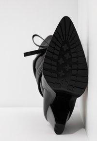 Day Time - KORA - Højhælede støvler - matrix nero - 6
