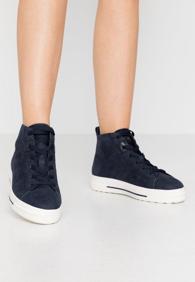 Zapatillas altas - navy