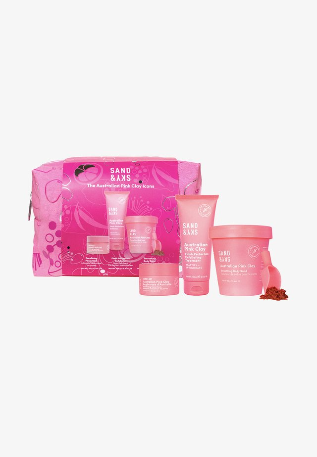 THE AUSTRALIAN PINK CLAY ICONS - Skincare set - -