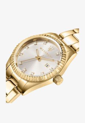 Horloge - gelb vergoldet
