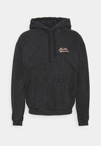 Kaotiko - CAP WASHED UNICORN UNISEX - Sweatshirt - black - 0