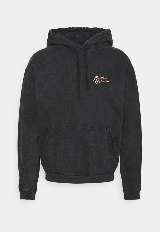 CAP WASHED UNICORN UNISEX - Sweatshirt - black