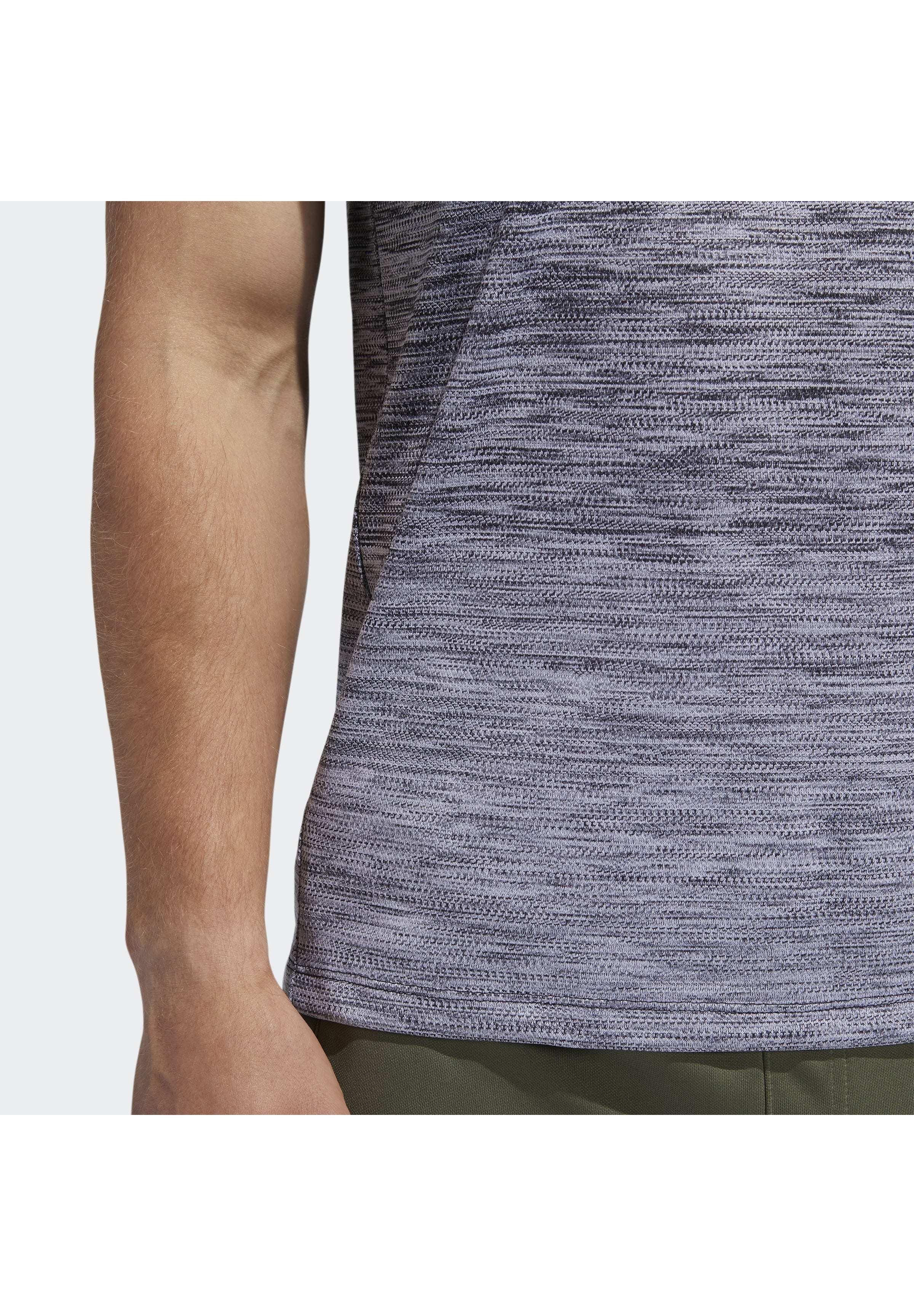 Adidas Performance Tech Gradient T-shirt - Z Nadrukiem Black