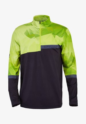 Fleece jacket - limette