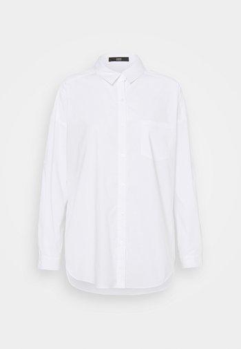 NADJA BLOUSE - Button-down blouse - white