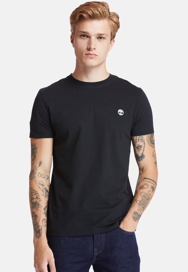 SS DUNSTAN RIVER - T-shirt con stampa - black