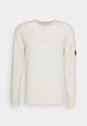CREW NECK - Svetr - gauze white