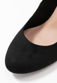New Look Wide Fit - WIDE FIT REEMA BLOCK - Zapatos altos - black - 2