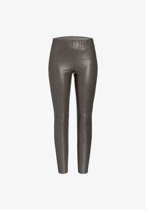 Trousers - balanced taupe nappa