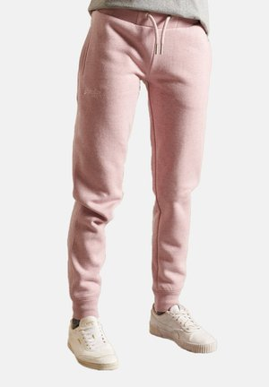 Tracksuit bottoms - soft pink marl