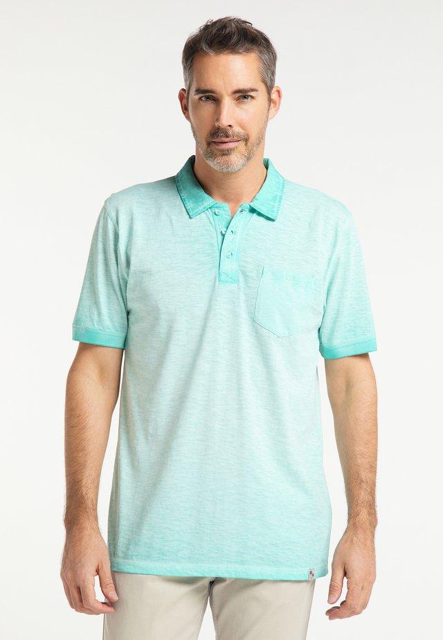 Polo shirt - aquamarine