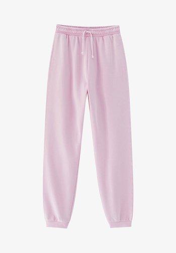 Teplákové kalhoty - rose