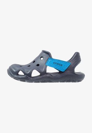 SWIFTWATER WAVE RELAXED FIT - Pool slides - navy