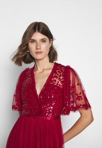 Needle & Thread - PATCHWORK BODICE BALLERINA DRESS EXCLUSIVE - Cocktail dress / Party dress - deep red - 3