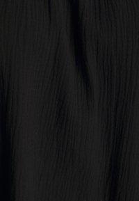 Missguided Plus - PLUS FRILL CUFF SWING DRESS - Robe d'été - black - 2