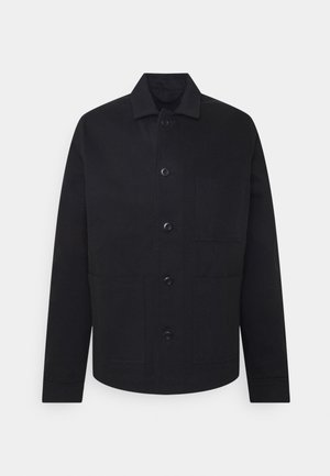 NEW WORKER JACKET - Spijkerjas - black