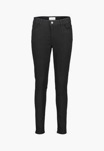MIT EINGRIFFTASCHEN - Jeans Skinny Fit - schwarz