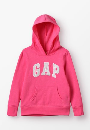 GIRLS ACTIVE LOGO HOOD - Sweat à capuche - pink