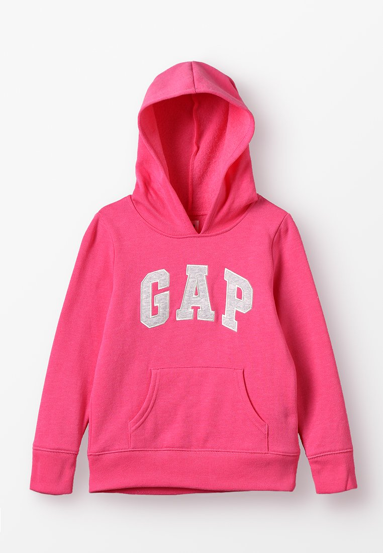GAP - GIRLS ACTIVE LOGO HOOD - Bluza z kapturem - pink