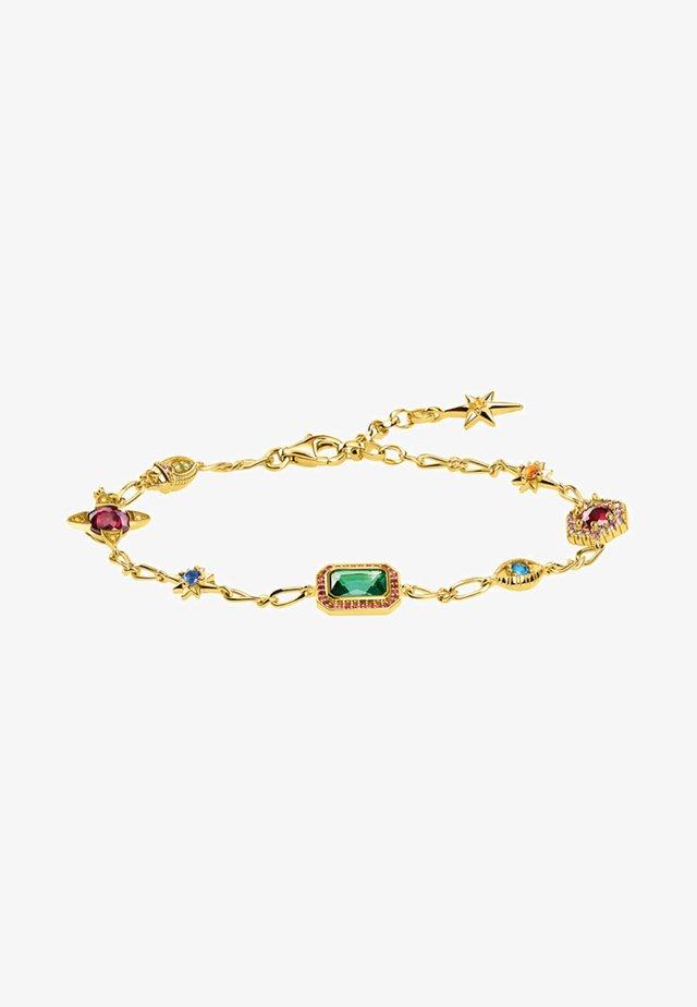 VERG - Bracelet - orange/purple/blue/green/gold-coloured/red