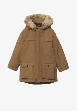 Zimní kabát - medium brown