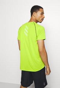 adidas Performance - ADI RUNNER TEE - T-shirt print - green - 2