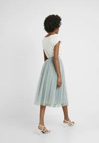 Lace & Beads Tall - VAL SKIRT - A-line skjørt - teal - 2