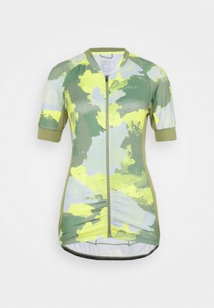 ENDUR GRAPHIC  - Cycling Jersey - forest/sulfur