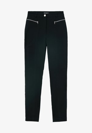 MISSING TITLE - Trousers - black