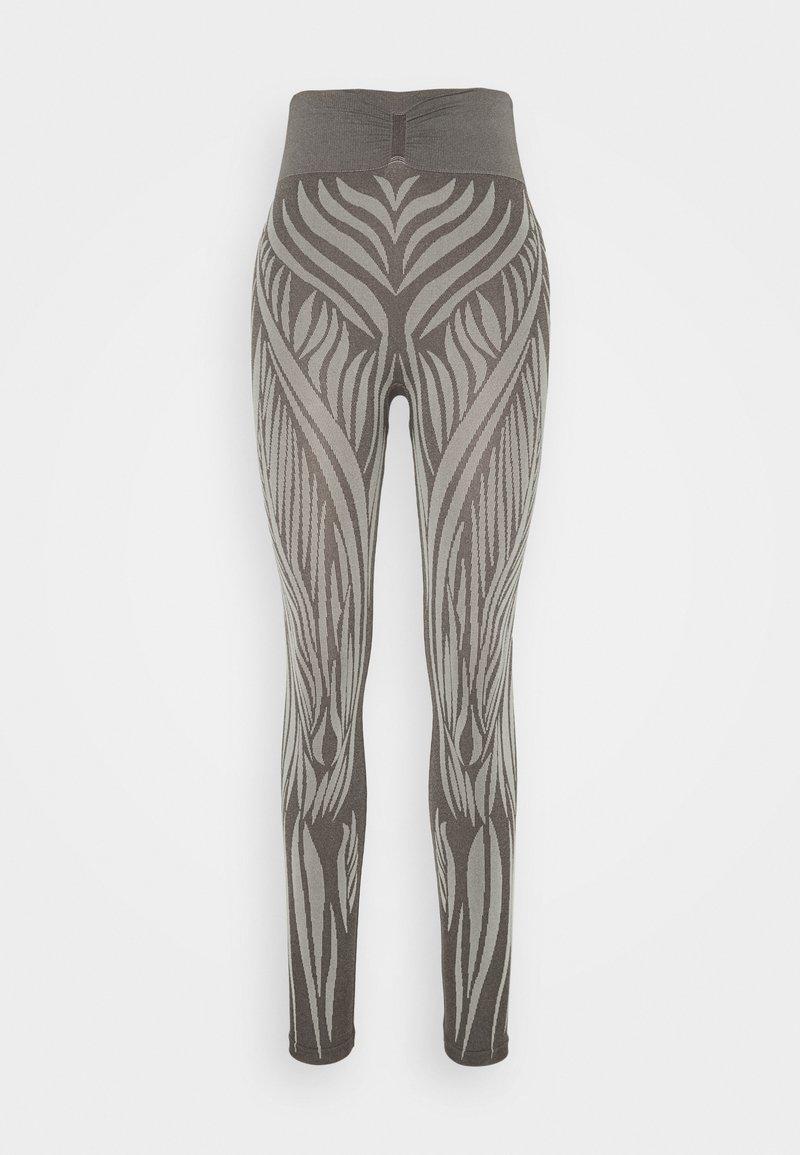 Yogasearcher - WILD - Leggings - moka