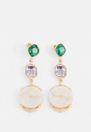 PCKIKO EARRINGS - Earrings - gold color