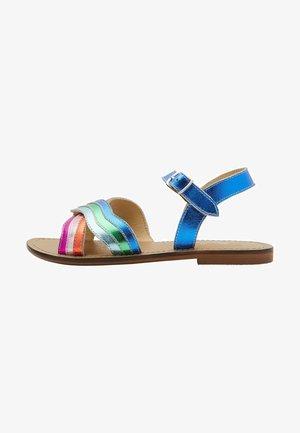 REGENBOGEN - Sandals - bunt  metallic