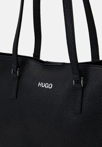 HUGO - DOWNTOWN - Shopping Bag - black - 4