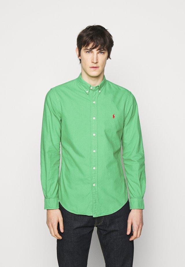 LONG SLEEVE SPORT - Shirt - golf green