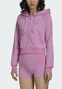 adidas Originals - Zip-up sweatshirt - pink - 2