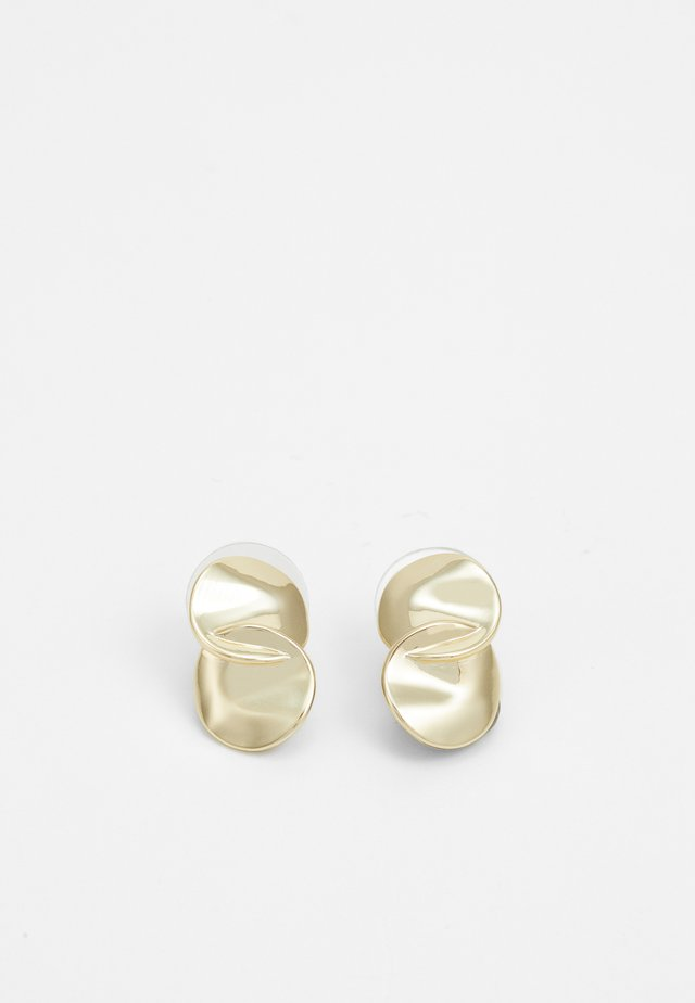 PHOEBE EAR PLAIN - Boucles d'oreilles - gold-coloured