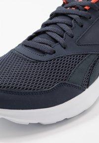 Reebok - QUICK MOTION 2.0 - Neutral running shoes - hero navy/white/vivid orange - 5