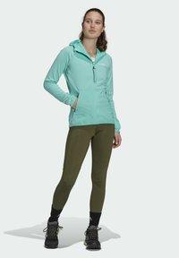 adidas Performance - Fleece jacket - green - 1