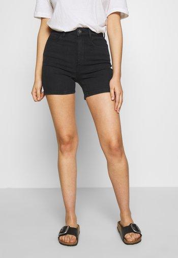 ONLMILA - Shorts di jeans - black