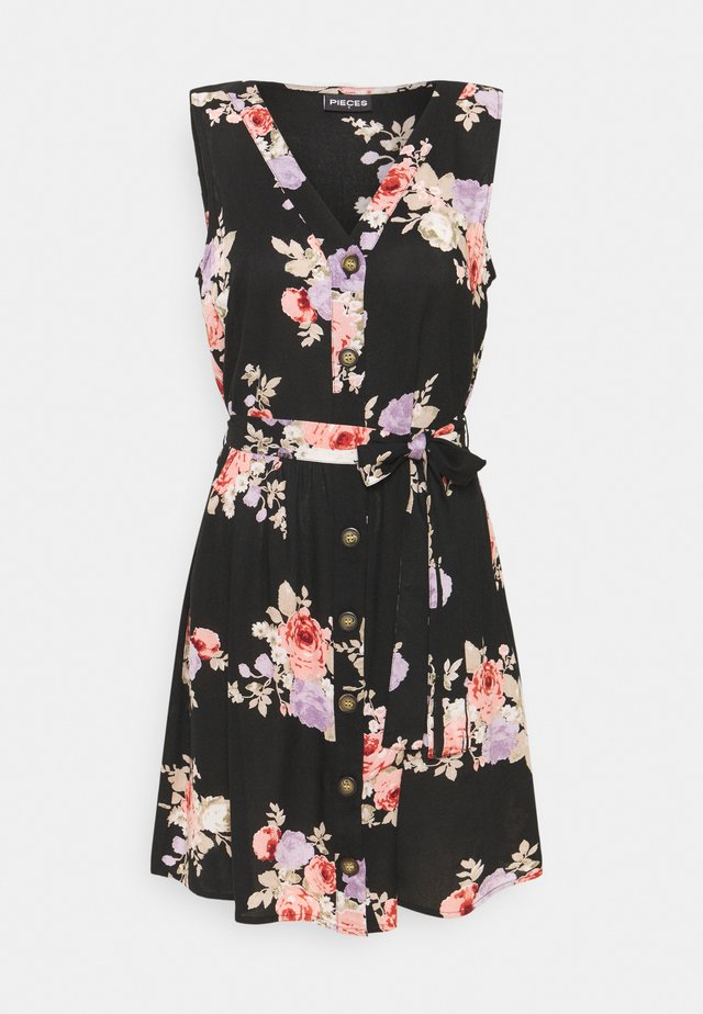 PCNISU DRESS  - Robe d'été - black