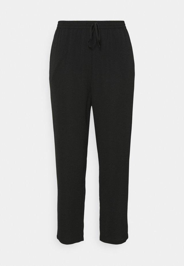 CARLUXINA LOOSE PANT SOLID - Bukser - black