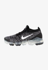 AIR VAPORMAX FLYKNIT - Trainers - black/white/metallic silver