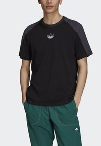 adidas Originals - ARCHIVE - T-shirt con stampa - black - 3