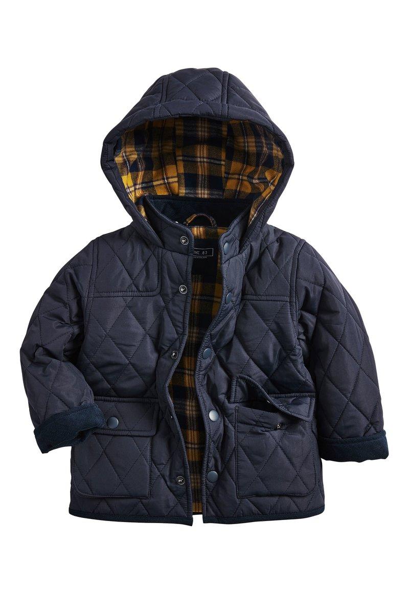 Next - KHAKI QUILTED JACKET (3MTHS-7YRS) - Winter jacket - blue