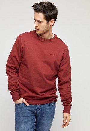BURWOOD - Sweater - dark chili