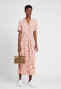 PIECES Tall - PCLIANNA LONG  DRESS - Maxi dress - light pink - 1