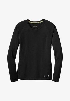 LIGHTWEIGHT 150 BASELAYER - Long sleeved top - black