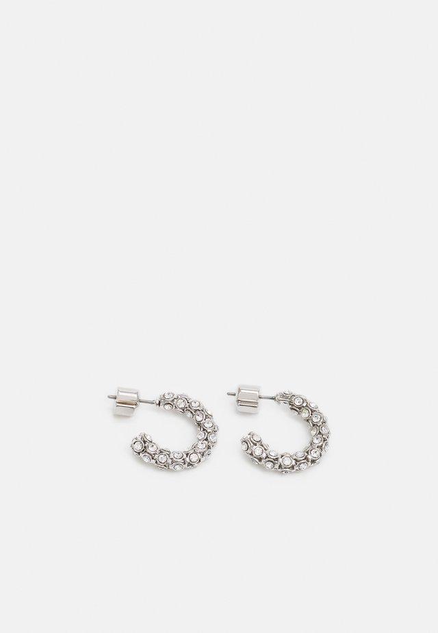 MINI HOOPS - Boucles d'oreilles - silver-coloured