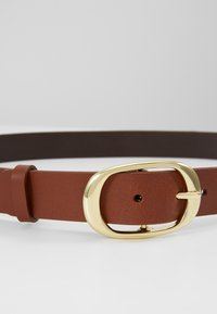 Zign - LEATHER - Pasek - cognac - 3