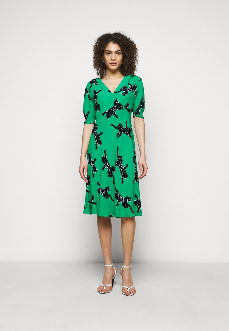 Diane von Furstenberg - JEMMA DRESS - Vapaa-ajan mekko - medium green